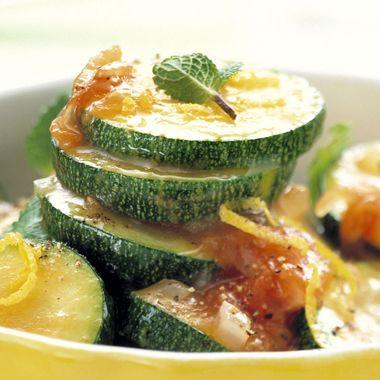 Grieks courgette-groentegerecht