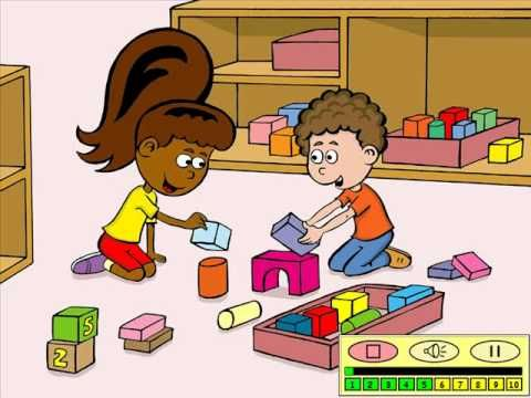 Tom en Tamira: Naar school. Digiboek voor kleuters.