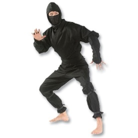 Check out this one of a kind Ninja Uniform at www.karatemart.com/