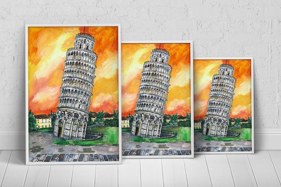 Europe Italy Art Print Poster on Etsy, $27.35 AUD
