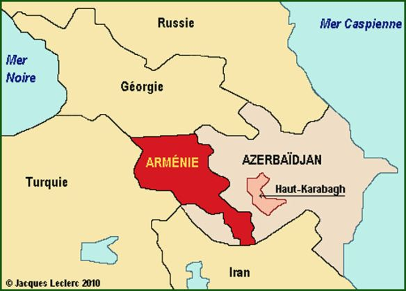 armenie carte geopolitique un drole article en lien, instructif mais...à vous de juger. Wm.