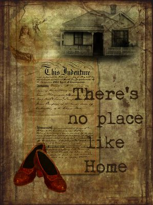 There's no place like home :)