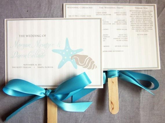wedding programs wedding-inspiration