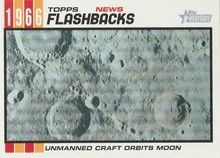 2015 Topps Heritage Baseball News Flashbacks #NF-2 Lunar Orbiter 1