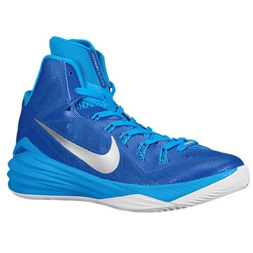 Nike Womens Hyperdunk 2014 Tb Gm Royalmtllc Slvrbl Hrwht Basketball Shoe 5  Women Us \u003e\u003e
