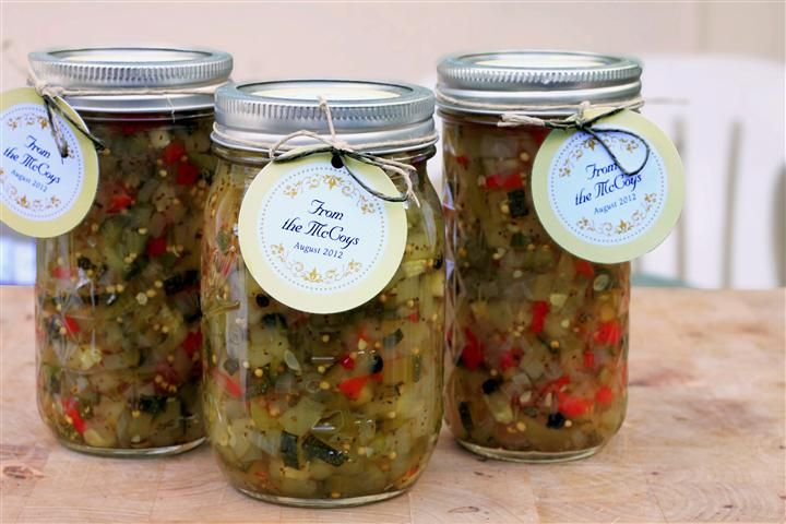 Zucchini Relish Recipe: a tasty way to use up lots of extra zukes!