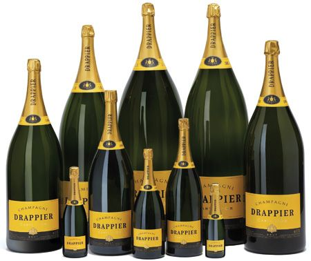 champagne bottle sizes and names, along with the most important details for all the large format champagne bottle sizes used for french champagne, ...