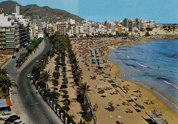 Benidorm Costa Blanca Spain in 1984
