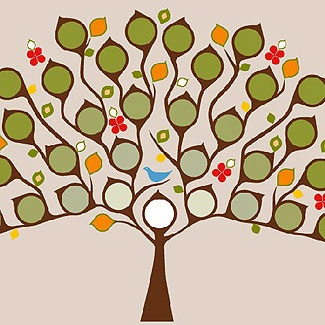 Proud-as-a-Peacock Family Tree Decor - iVillage Message Boards ...