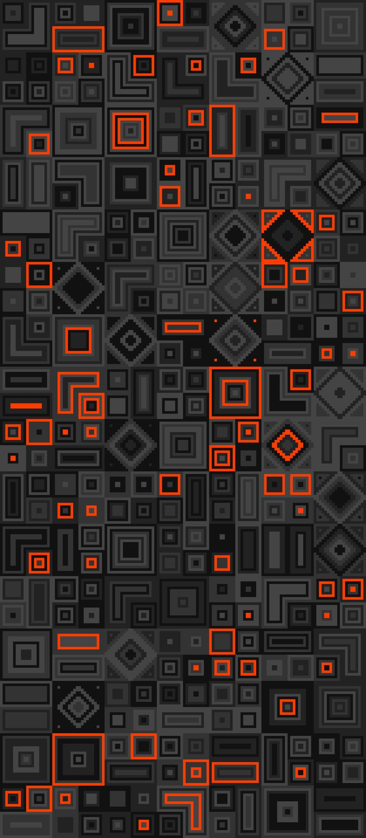 Russfussuk Reboot Geometric Pattern S6A #pattern #patterndesign #patternprint #geometric #computer #digital