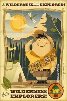 Disney/Pixar Decor on Pinterest | Tom Whalen, Toy Story and ...