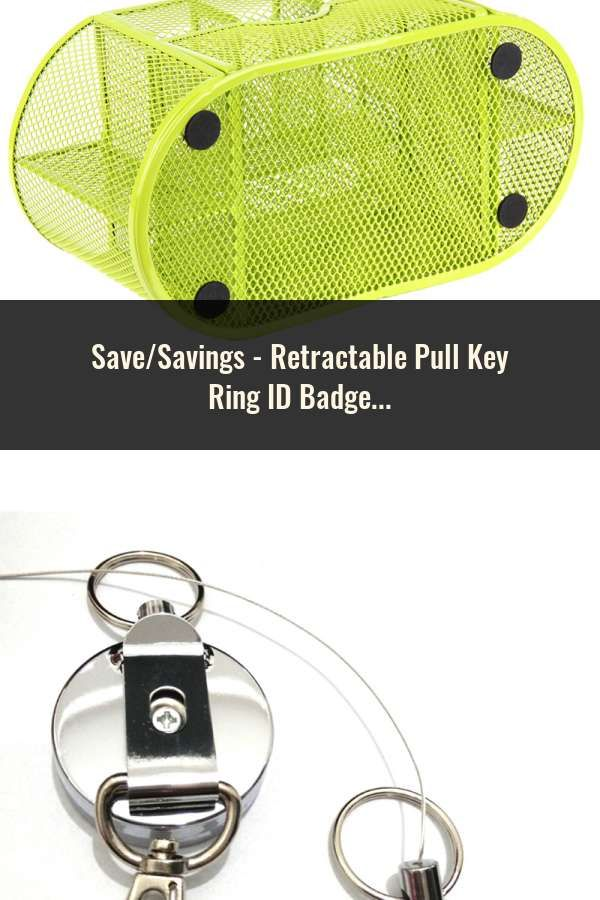 100 Retractable Reel ID Badge Key Card Lanyard Name Tag Holder with Belt Clip