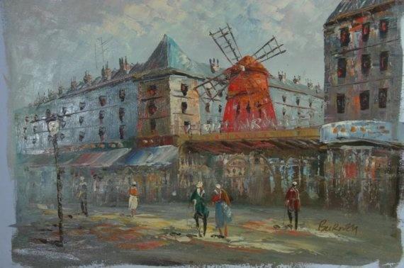 Oil Paintings By Burney