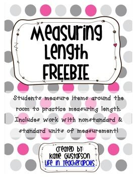 Inequality Problems Worksheet Word Best  Metric Unit For Length Ideas On Pinterest  Units Of  Teaching Numbers To Preschoolers Worksheets Pdf with Telling Time Worksheets 1st Grade Excel Two Worksheets Are Included In This Freebie One Involves Nonstandard And  Standard Units Of Measurement Persuasive Essay Worksheets Word