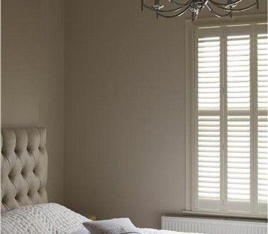 couleur peinture chambre adulte lin et blanc casse