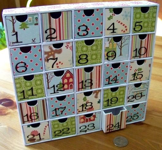 Homemade Calendar With Pictures : Best homemade advent calendars ideas on pinterest