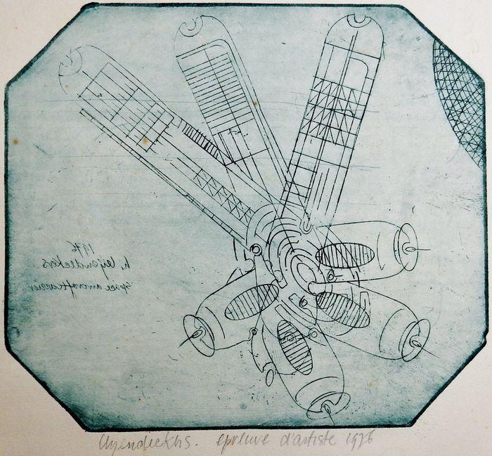 Hubert Leijendeckers - Space aircraftcarrier