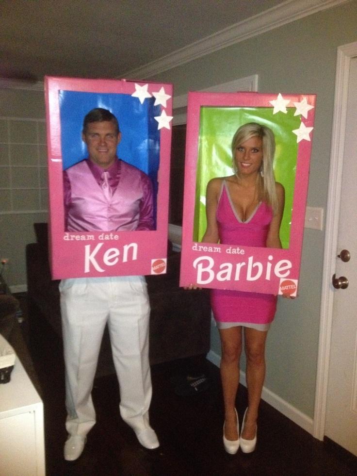 Barbie and Ken Halloween Couples Costume.