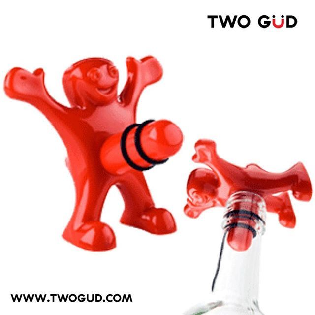 #Happy #Man #quirky #fun #Bottlestopper available on our website www.twogud.com #cool #giftidea #barstuff #winelover #bar #wine #bottle #stopper #alcohol #winebottle #winestopper #Love #gift #ilovewine #wineo #womenwholovewine @womenwholovewine