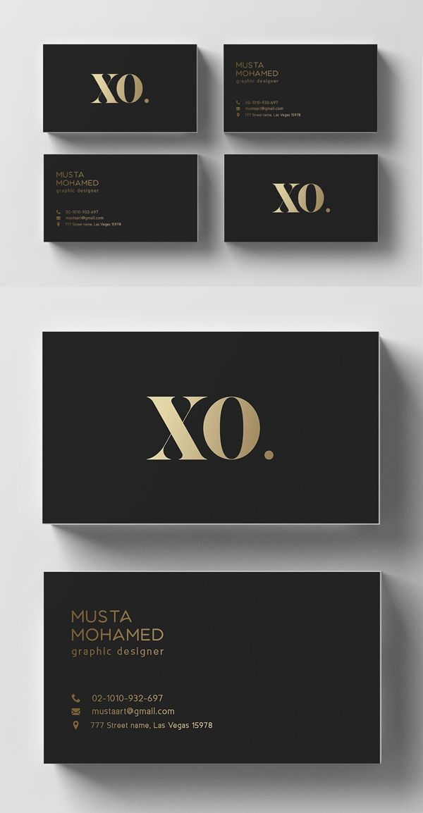 25 Minimal Clean Business Cards Psd Templates Design Graphic Design Junction Gold Business Card Business Card Design Black Business Cards Layout