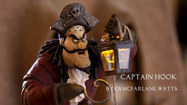 Captain Hook -  Maquette Sculpting and Painting by Tall Tales Productions