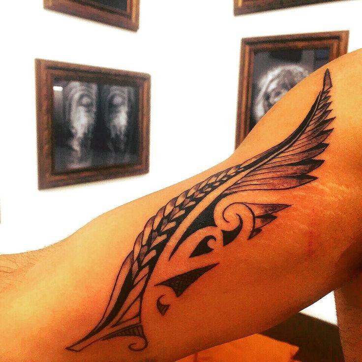 Maori Feather Tattoo: 615 Best Images About Tattau On Pinterest