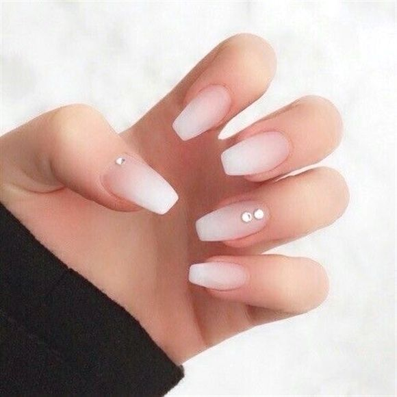 What You Really Need To Know About The Chemicals In Your Nail Polish Neutral Nails Acrylic Coffin Nails Designs Diamond Nails