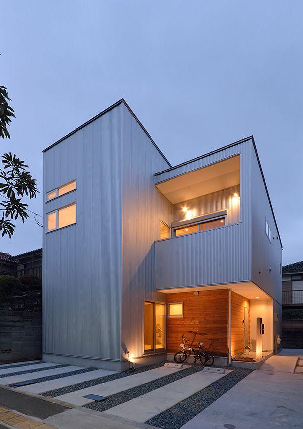 スチールと木の家   注文住宅なら建築設計事務所 フリーダムアーキテクツデザイン