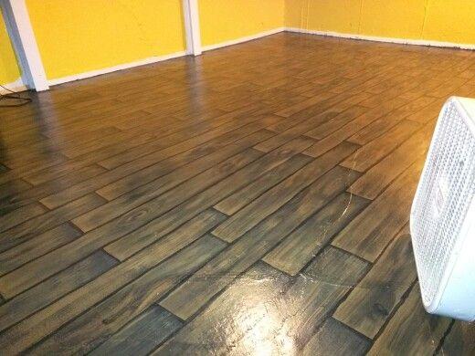 Lovely Plywood Basement Floor
