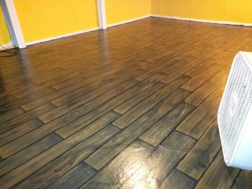 7 best faux wood plank flooring images on Pinterest ...