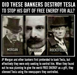 Conspiracy Watch: Nikola Tesla: Destroyed by Elitists then Murdered by Hitler's Assassins?