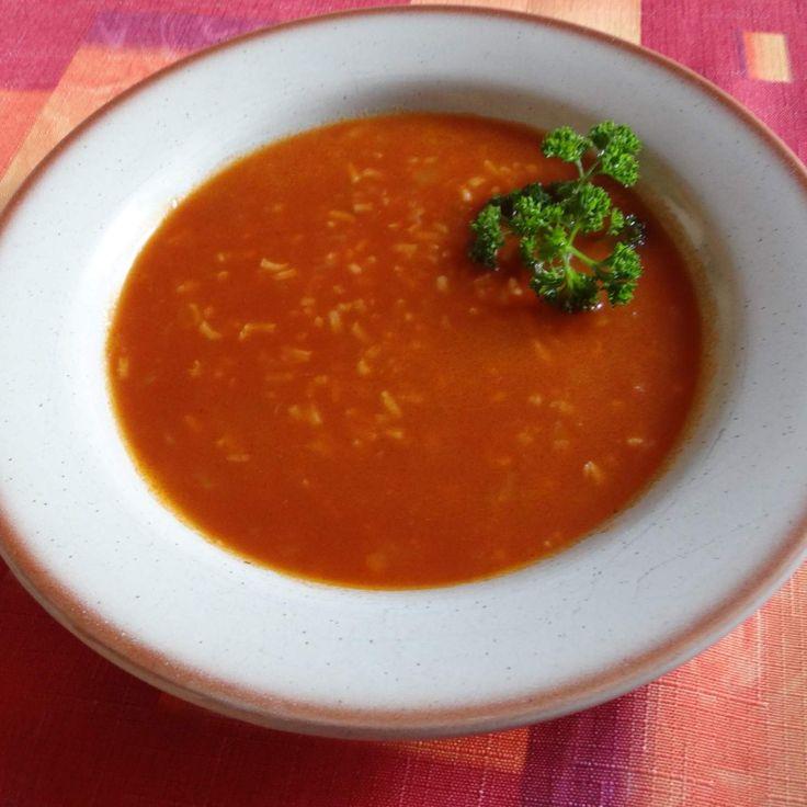 Recept Rajská polévka s rýží od Jan Stříbrný - Recept z kategorie Polévky