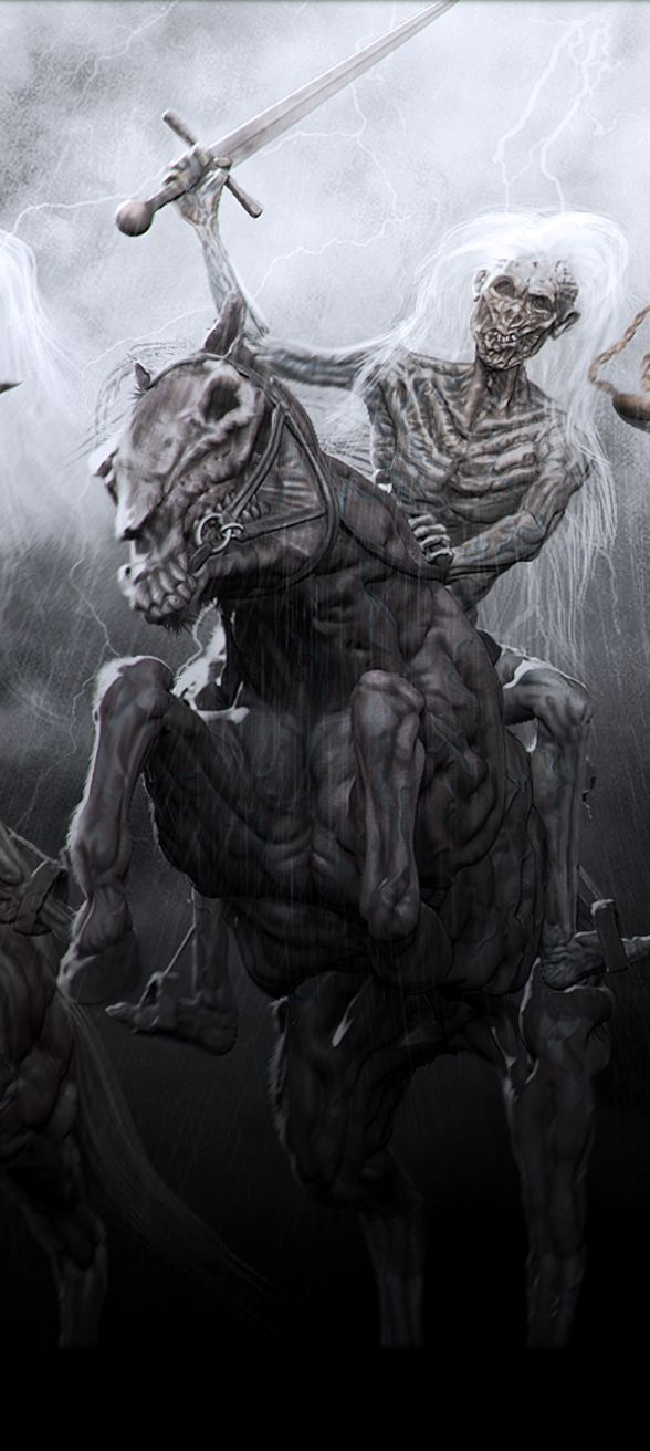 The four horsemen by chokata (detail)