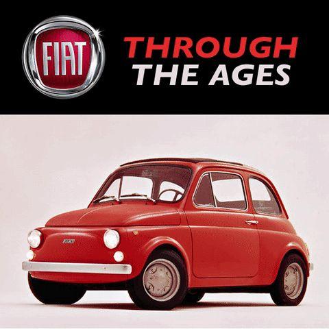 #TransformationTuesday MY HOW THE FIAT 500 HAS CHANGED! 1900-2016! #ItalianDesign #FiatFun