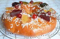 Recette de brioche des Rois aux fruits confits moelleuse et savoureuse