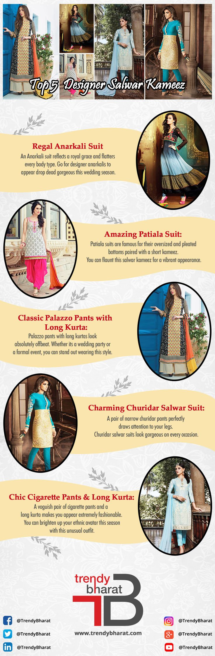Simplicity gives the best in result, when it comes to beauty so pick your style and flaunt your Indian look. #womensfashion #salwarkameez #anarkalisuits #latestdesignersuits #ladiessalwarkameez