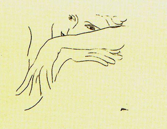 Всегда прислушивайтесь к желаниям линии: когда она хочет вступить, а когда - затихнуть. Анри Матисс