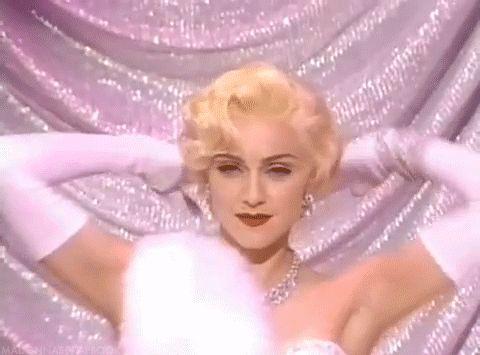 "madonnascrapbook: ""Madonna Giving It at The Oscars 1991 """