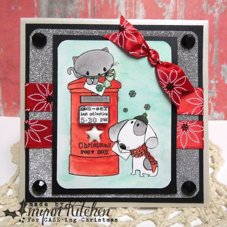 On A Stampage...: CASE-ing Christmas: Christmas in July Blog Hop!