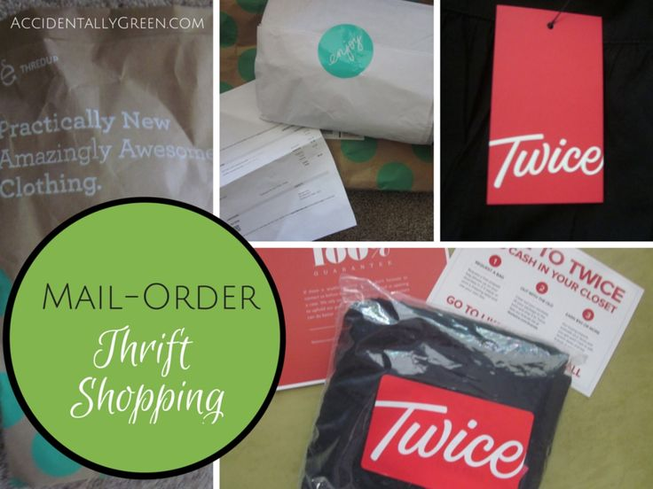 I've loved trying mail-order thrift shopping with $10 in free clothing from ThredUP and Twice. (All new, referred customers get $10 in merchandise!)