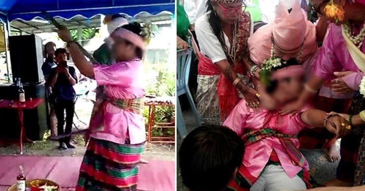Йог Теприт Пали смертельно ранил себя во время ритуального танца. Пали проделывал трюк с мечом каждый год, но в этот раз все пошло не так.