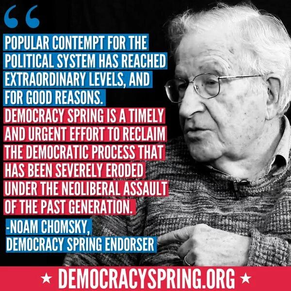 "best our great noam chomsky images noam chomsky   democracyspring politicalrevolution noam chomsky young bernie sanders supporters are a ""mobilized force"
