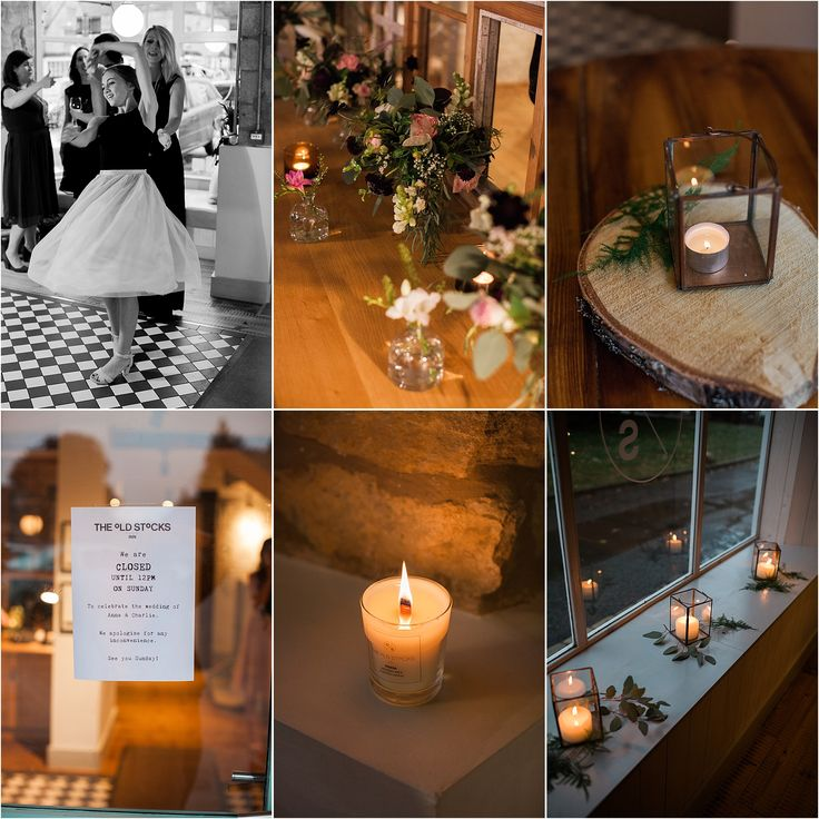 Wedding day, evening reception, wedding decor, wedding details, cotswolds wedding, stow on the wold, the old stocks, fine art wedding, bowtie and belle photography