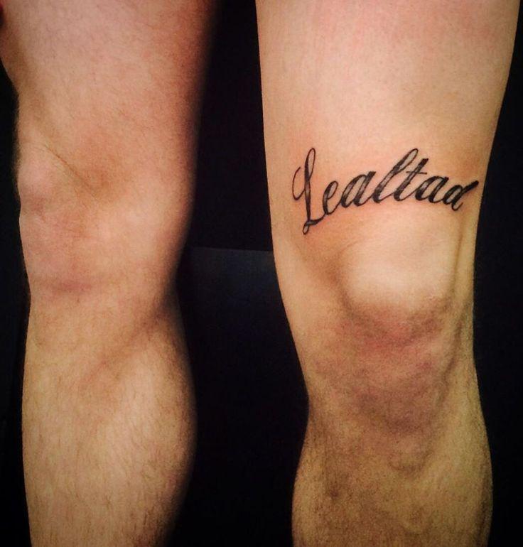 TwoTattoo [ Tatuaje Frase Lealtad