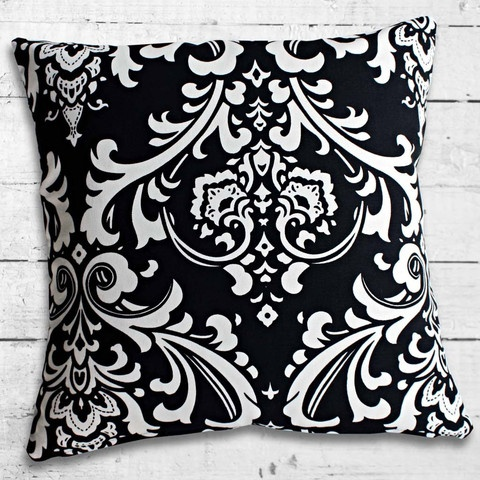 Cushions from Cushionopoly - Midnight Madame cushion cover.