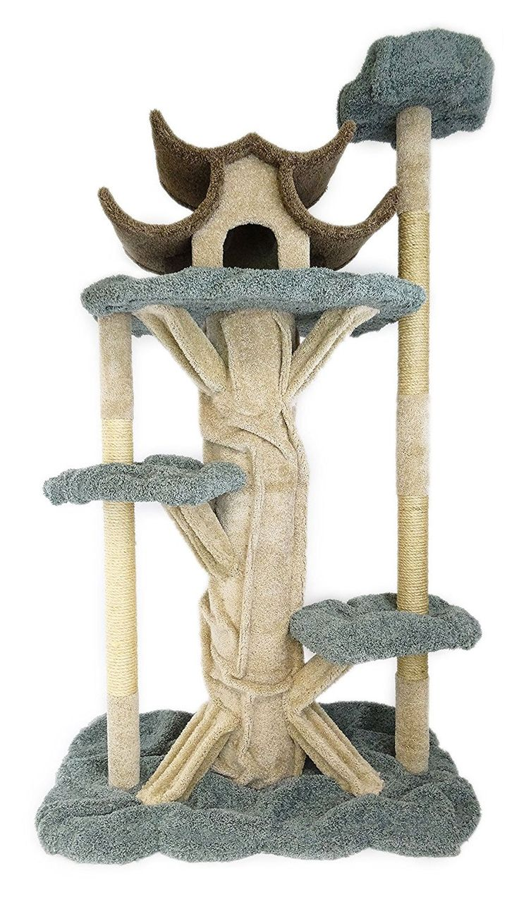 New Cat Condos Premier 7' Tall Cat Playground >>> Quickly
