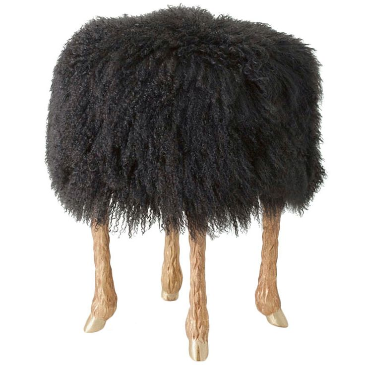 Pieds de Bouc  Stool by Marc Bankowsky   From a unique collection of antique  sc 1 st  Pinterest & 112 best objects: ottomans poufs stools u0026 benches images on ... islam-shia.org