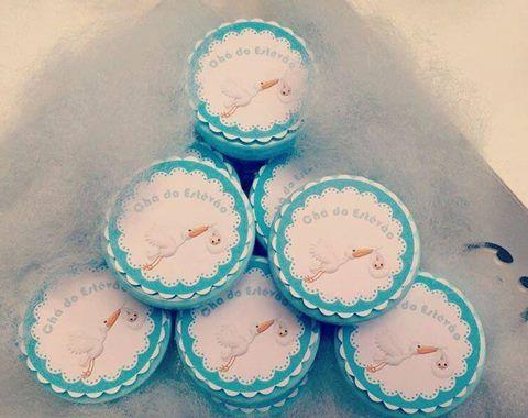 Freelancer - Personalizados para chá de bebê.  Criado por: Monique Caroline Duarte Alves. #personalizados