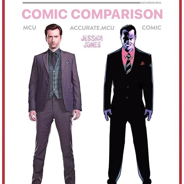 "• KILGRAVE - COMIC COMPARISON • I really like the MCU version of Kilgrave but it would be cool if he was getting called ""the purple man"" sometimes. At the end of the season when he got injected again you can see his veins and eyes getting purple but it would be really dope if they stayed purple. Do you think there is any chance of him coming back ??? let me know below ✌️ ———————————————————— #marvel #mcu #ironman #captainamerica #thor #hulk #blackwidow #hawkeye #spiderman #avengers #disney…"