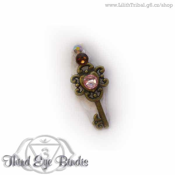 Keys – tribal steampunk bindi – nr. 4